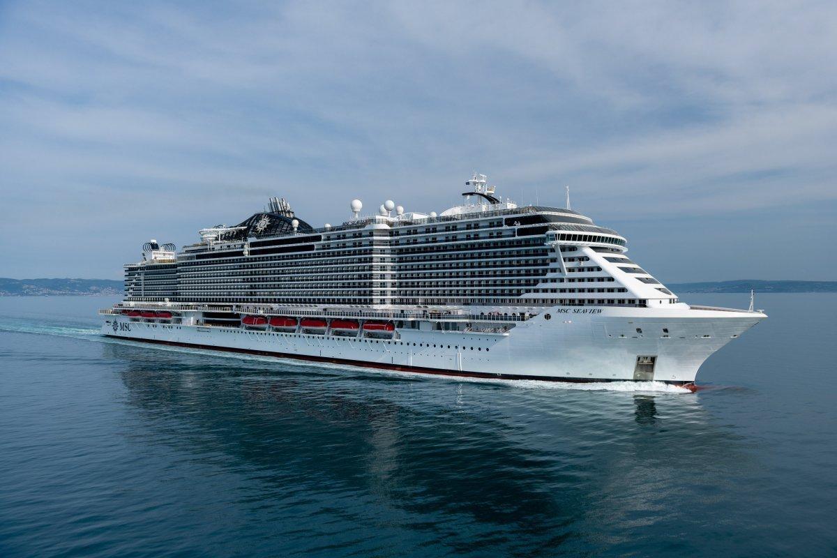 """Fincantieri consegna a Msc Cruises """"Msc Seaview"""", la nave più grande mai costruita in Italia"""