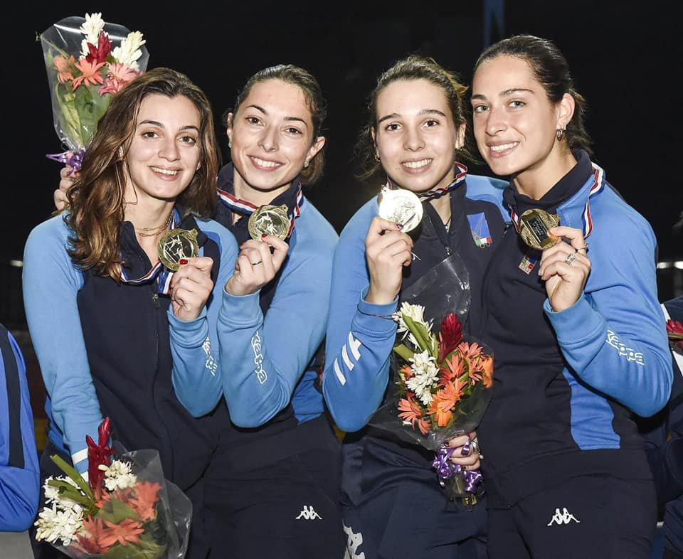 Scherma, spada femminile donne: team azzurro Campione del Mondo! Nel team la regionale Mara Navarria