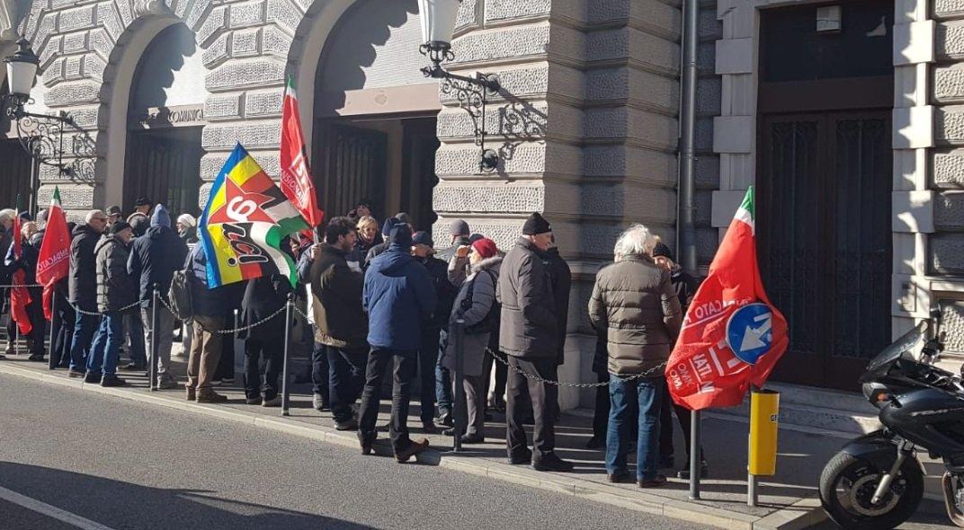 «Riuscita la manifestazione dei cittadini di Servola a difesa dell'Ufficio Postale»