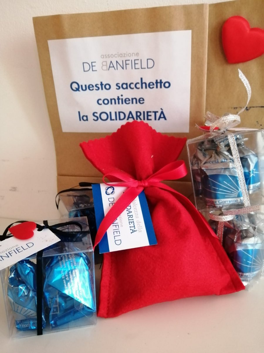 San Valentino di solidarietà, l'associazione De Banfield venerdì fuori dalla Lovat con i cioccolatini