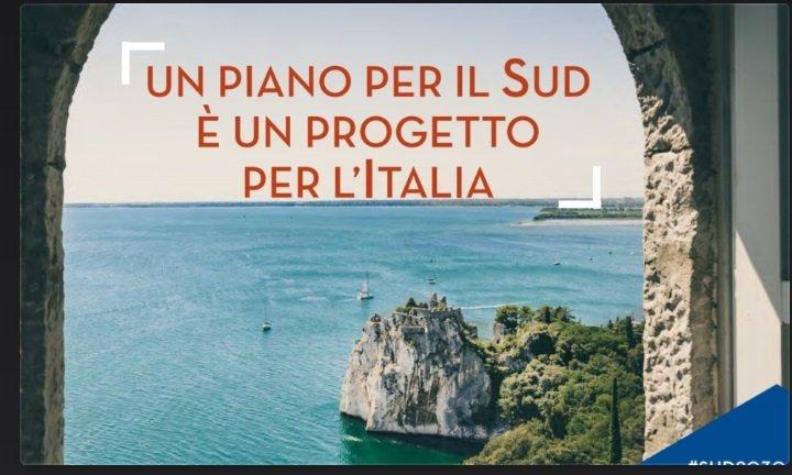 Piano per il Sud, presentato il progetto con immagini di Trieste e Duino