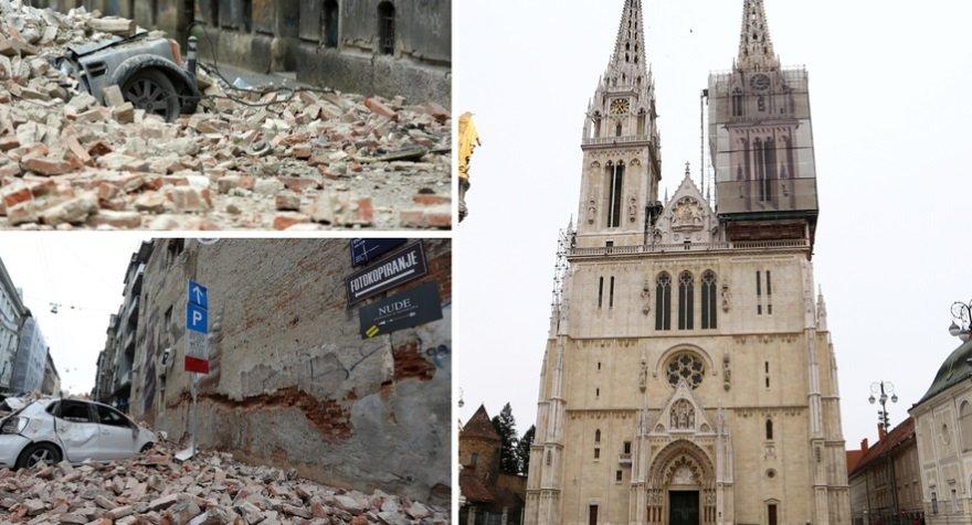 Terremoto In Croazia Sentito Anche A Trieste Ingenti Danni A Zagabria Danneggiate La Cattedrale E L