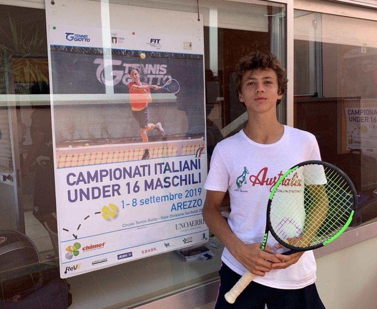 Pietro Pampanin è il nuovo campione Italiano Under 16 di Tennis