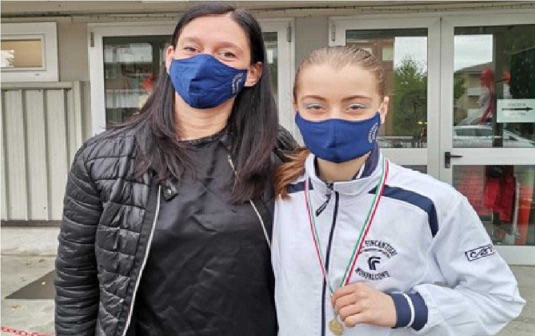 Pattinaggio, la triestina Sara Sorrentino campionessa regionale categoria allievi regionali A specialità libero