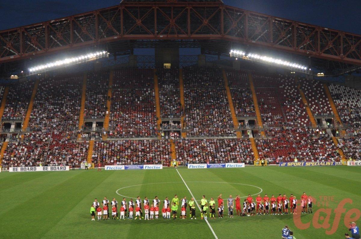 STRAORDINARIA TRIESTINA! L'Unione perde di misura contro la Juve, 20 mila al Rocco! (FOTO)