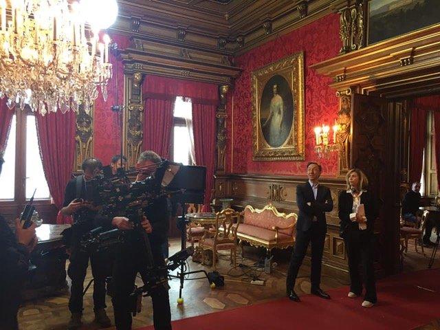 Lunedì il Castello di Miramare protagonista sulla TV di stato francese