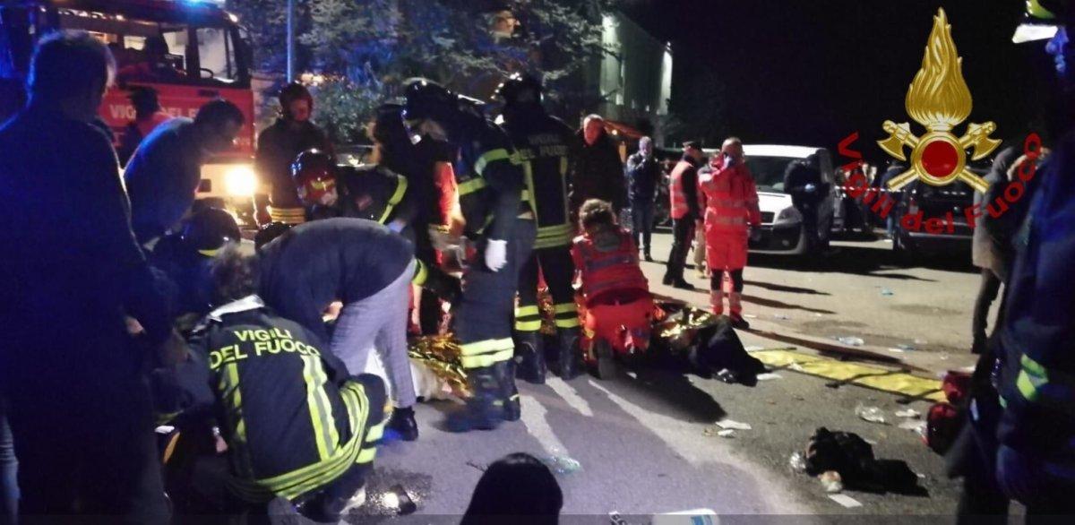 Ancona, tragedia al concerto di Sfera Ebbasta: 6 morti e oltre 50 feriti