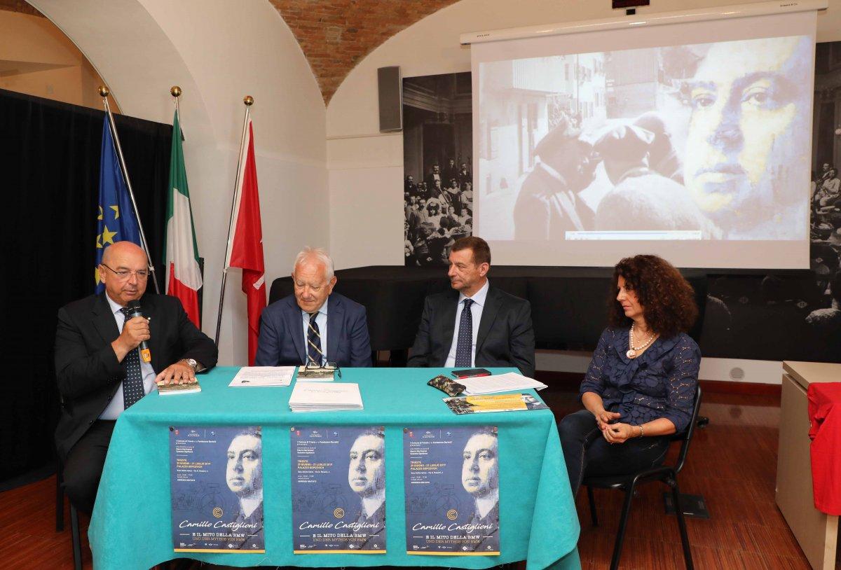 """Camillo Castiglioni e il mito della Bmw, mostra dal 29 giugno e volume """"La Trieste Opicina motociclistica"""""""