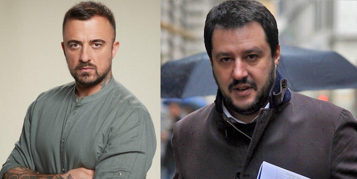 Chef Rubio, nuovo attacco a Salvini: «Pago le tasse per far giocare sui social #felpapig»