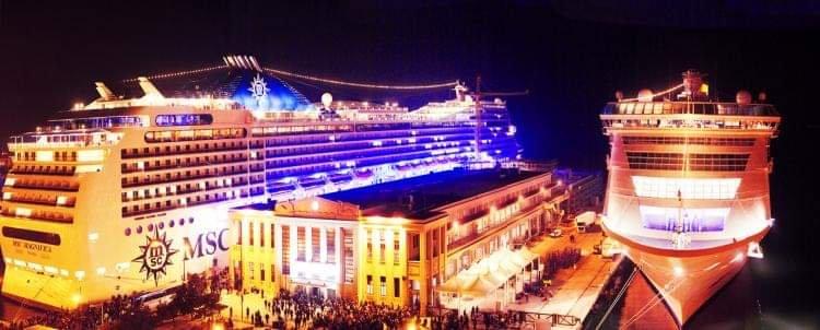 Domenica a Trieste MSC Magnifica, la città in versione natalizia