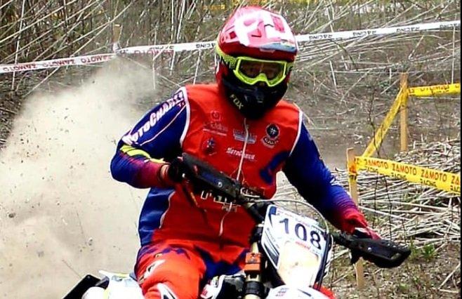Il triestino Fabrizio Hriaz a caccia del 10° titolo tricolore di enduro