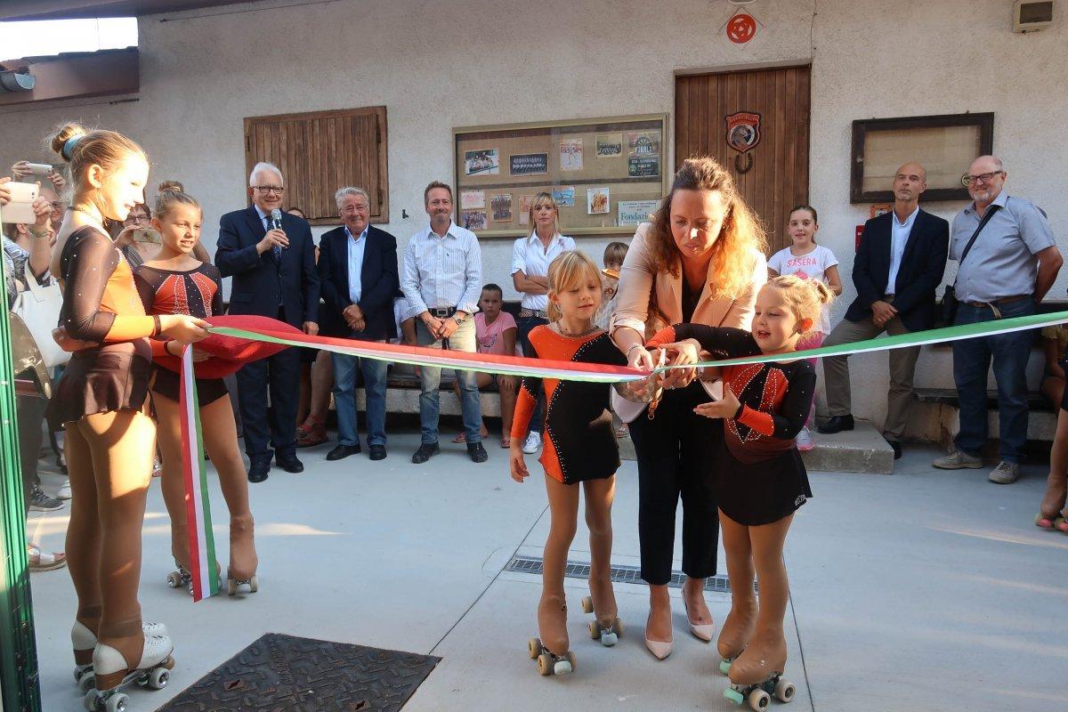 Inaugurazione nuove centro sportivo del Polet a Opicina (VIDEO)