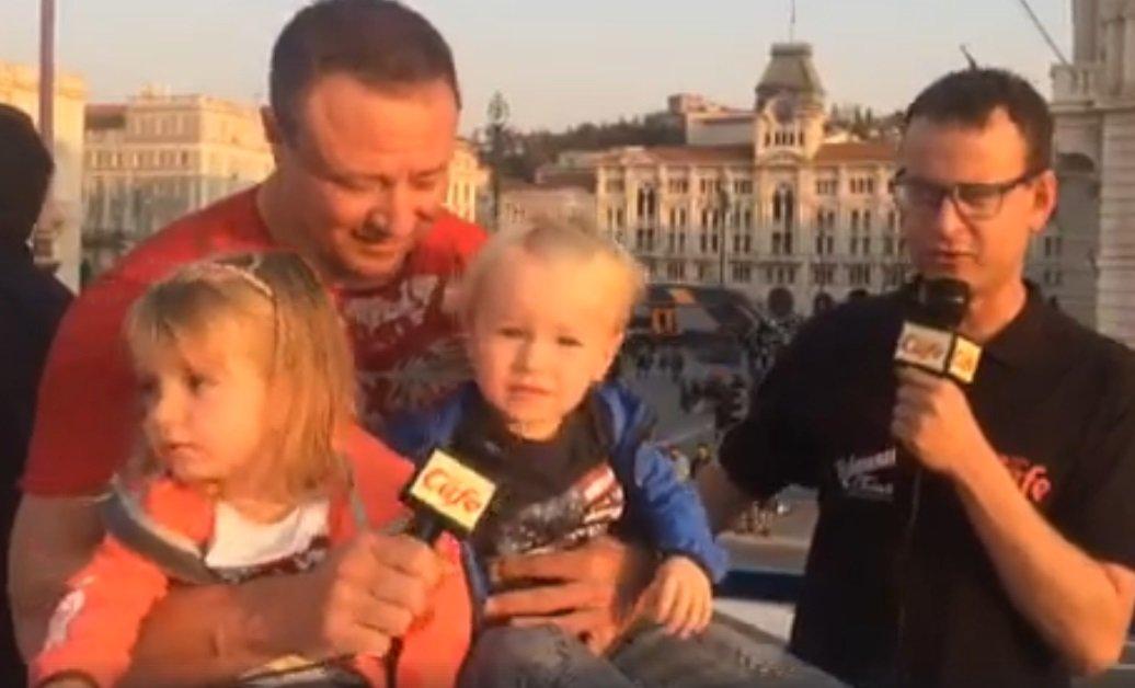 Riki Ramazzina alla Barcolana (VIDEO)