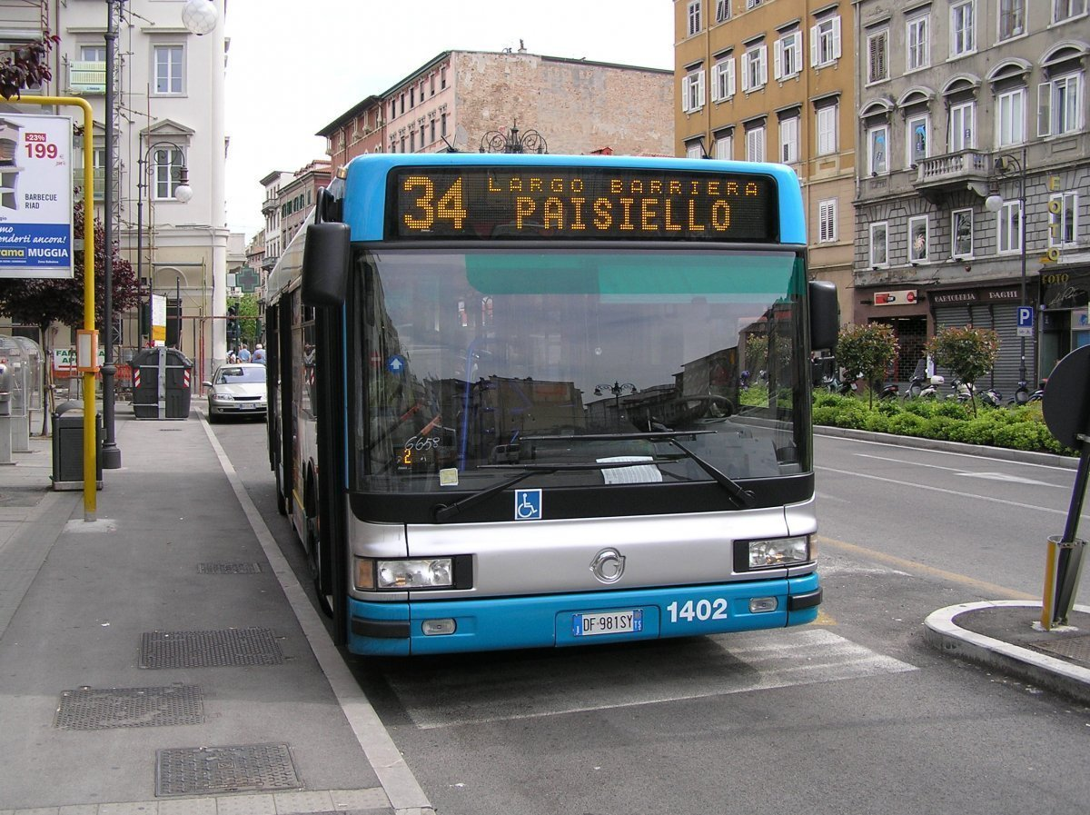 Oggi bandierine sui bus di Trieste Trasporti, ecco perchè