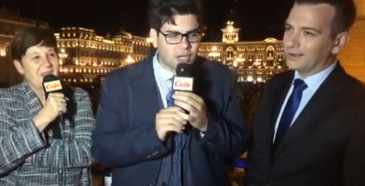 Il sindaco di Muggia Laura Marzi e il vice-sindaco Francesco Bussani (VIDEO)