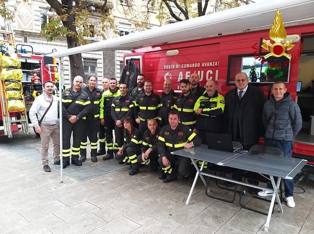 Settimana Nazionale Protezione Civile, partecipazione dei Vigili del Fuoco di Gorizia