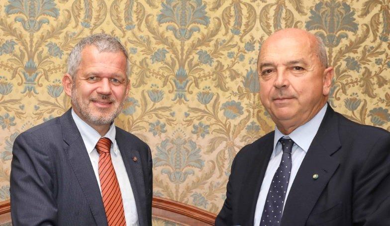 Il Sindaco Dipiazza ha ricevuto in Municipio il Console generale d'Austria