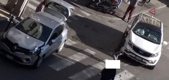 Campo San Giacomo, scontro tra due auto