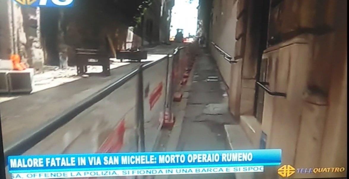 Malore in via San Michele, morto operaio rumeno