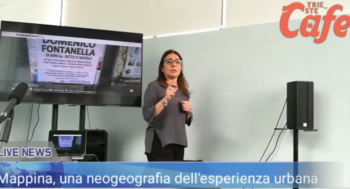 Mappina, una neogeografia dell'esperienza urbana. L'incontro in diretta dalla Stazione Rogers (VIDEO)