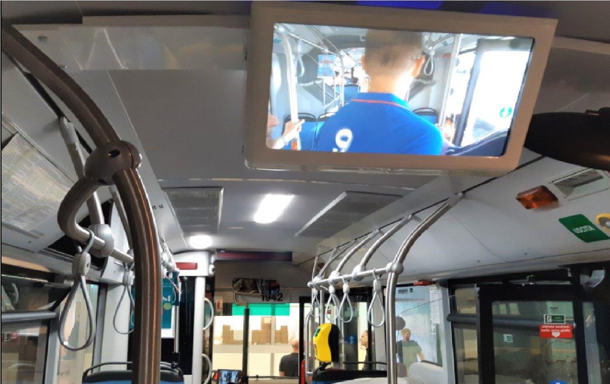 Trieste Trasporti, iniziata l'installazione dei monitor di bordo
