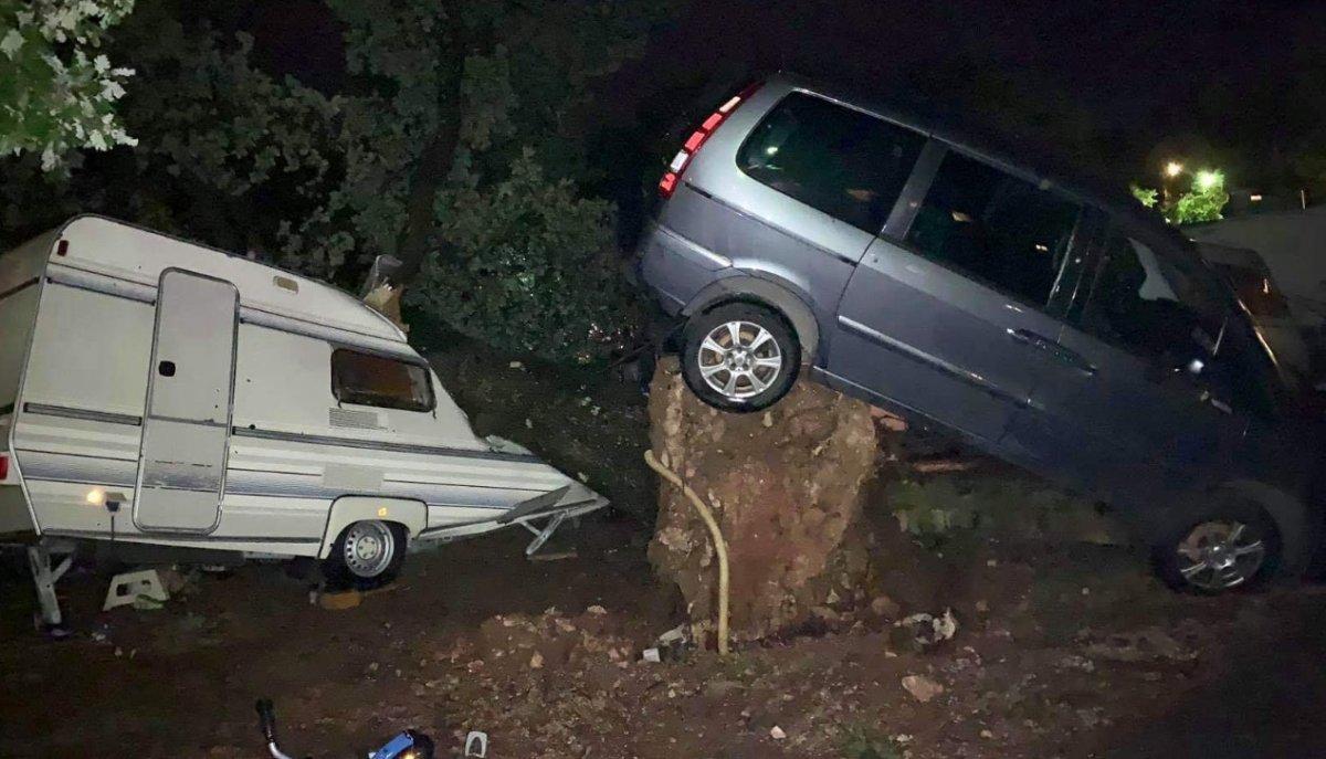 Tempesta a Orsera, ingenti danni da maltempo