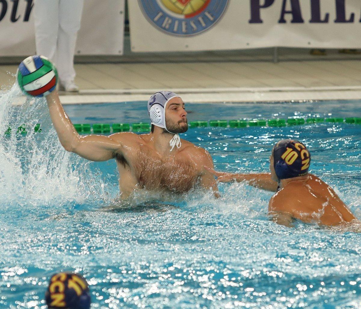 Pallanuoto, A1 maschile: Trieste riprende la Roma Nuoto a 9'' dalla fine