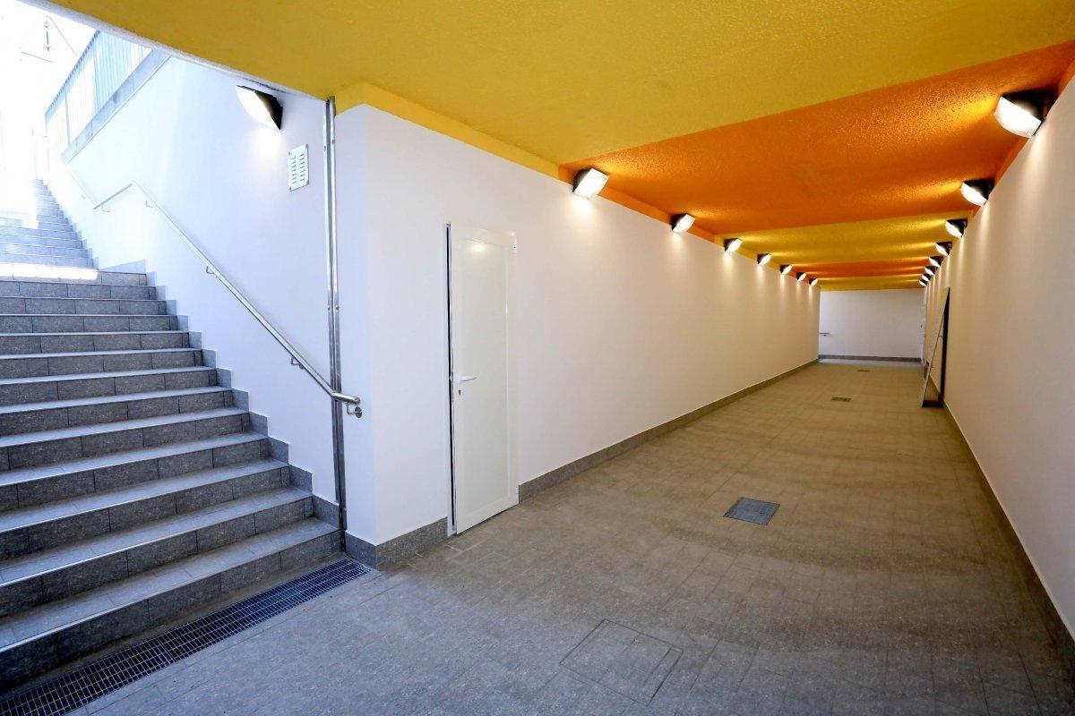Barcola in piena sicurezza! Inaugurato il nuovo sottopasso ristrutturato e colorato