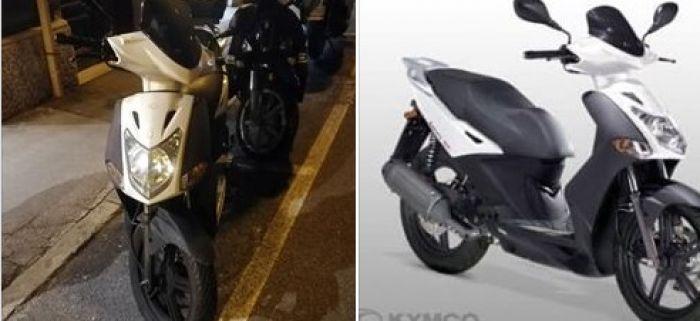 Via santa Caterina, scooter rubato: l'appello del proprietario
