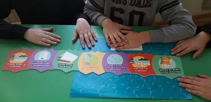 A Trieste i bambini scoprono l'ecologia sui banchi di scuola: imparare a non sprecare grazie a un chilo di carta
