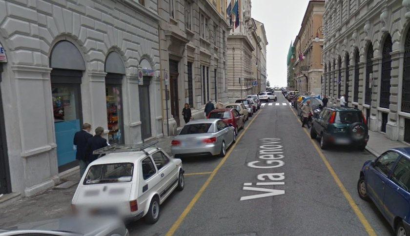 Allagamenti in via Genova (VIDEO)